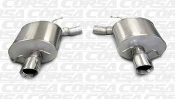 Corsa Sport Axle Back Exhaust CTSV 4 Door 09-15