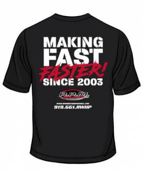 Making Fast Faster Tee Shirt (Black)