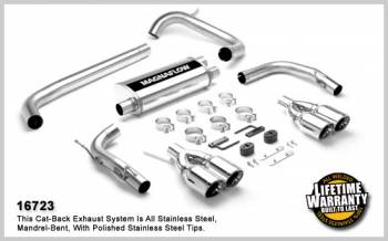 Magnaflow Catback 98-02 F-Body  Twin tips