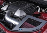 Parts for 2010-2015 Camaro - Air Induction / Intakes - CAI 2010 - 2014 6.2L Chevrolet Camaro Cold Air Inductions Inc. Cold Air Intake System (Near Chrome Finish)